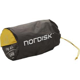 Nordisk Grip 2.5 Self-Inflatable Mat Regular mustard yellow/black